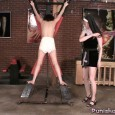 Now that the little schoolgirl has messed her diaper it's time to really punish her in it! The nun makes her stand up on the cross with her stinky butt […]